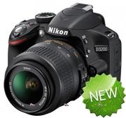 Только у нас Акция! Фотоаппарат Nikon D3200+Подарок сумка и карта памя