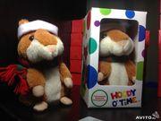 Говорящий хомяк WoodyOTime + батарейки в подарок! 300 лей шт.