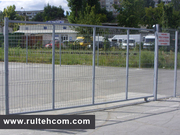Plasa pentru gard si constructie,  gard metalic,  eurogard,  sirma zincat