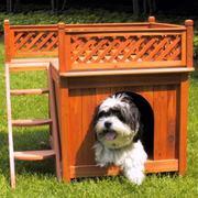 Домик (конура) для собаки. Малые архитектурные формы от Prosperitas