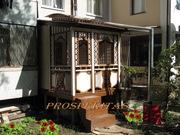 Беседка - Веранда - терраса,  пристройка к жилому дому от Prosperitas.