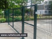 Ворота и калитки для заборов. Gard metalic. Poarta