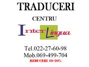 Traduceri autorizate. CENTRU.  Oferta de primăvară. REDUCERI 15-20%!!!