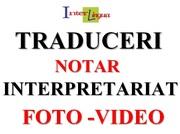 TRADUCERI+ INTERPRETARIAT+ SERVICII DTP+ SERVICII FOTO-VIDEO.REDUCERI!