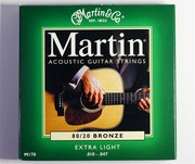 Струны для акустической гитары. Martin.