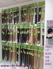 волосы для наращивания,  волосы на заколках