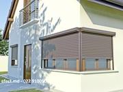 Рольставни на окна для дачи цена в Молдове Efect Studio