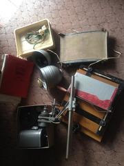 Набор фототехники для проявки пленки и печати фотографий