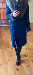 Дубленка женская размер 42-44 натуральный мех