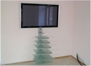 Установка телевизора,  саундбара,  акустики на стену,  потолок. Instalare