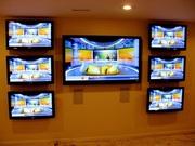 Профессиональная установка телевизора,  проектора. Любые кронштейны