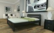 Кровать двуспальная из дерева 160х200. Массив сосны новая 3300 lei бес