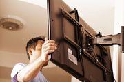 Мастер. Установка и монтаж телевизоров на стену,   Кронштейны для ТВ.