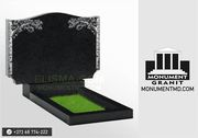 Гранитные надгробные памятники. Установка. Доставка. Monumente granit.